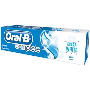 Oral-B 81587060 Complete Extra White Toothpaste