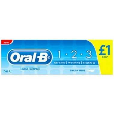 Oral-B 81669436 1.2.3 75ml Toothpaste