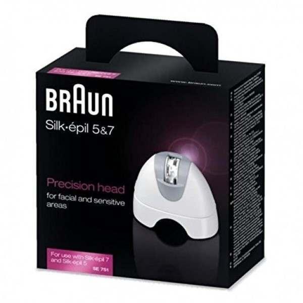 braun se751 silk pil 5 7 precision epilator head. Black Bedroom Furniture Sets. Home Design Ideas