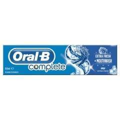 Oral-B 81482198 150ml Complete Extra Fresh + Mouthwash Toothpaste