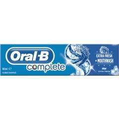 Oral-B 81586982 Complete Fresh Mint Mouthwash + Toothpaste