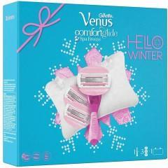 Gillette 81677975 Venus ComfortGlide Spa Breeze Women's Razor Gift Set