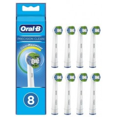 Oral-B EB20-8 8 Pack Precision Clean Toothbrush Heads