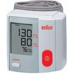 Braun BP1600 VitalScan Plus Wrist Blood Pressure Monitor