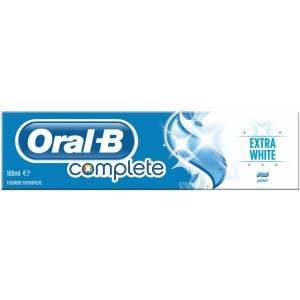 Oral-B 81477854 Complete Extra White 100ml Toothpaste