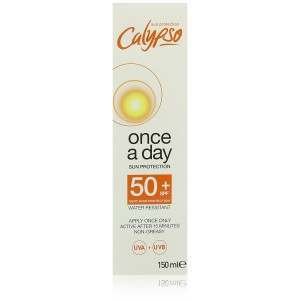 Calypso Once A Day SPF50 Sun Tan Lotion
