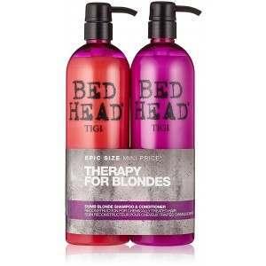 TIGI Bed Head TOTIG151 2 x 750ml Therapy For Blondes Conditioner & Shampoo