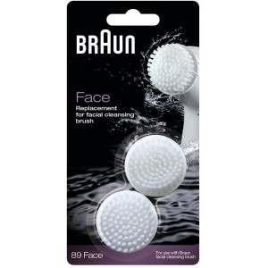 Braun SE89 Face 2 Pack Facial Cleansing Brush